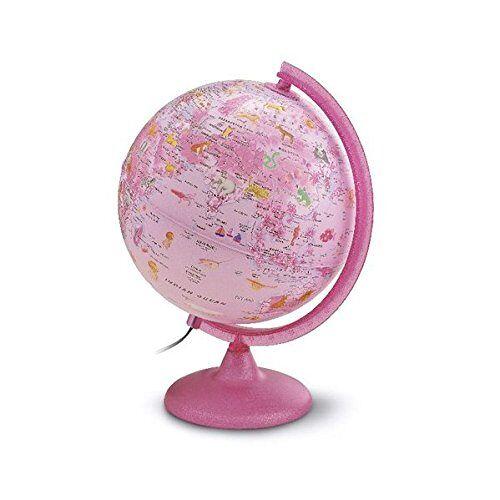 - Kinderleuchtglobus ZP 2562 Zoo Pink: Kinderleuchtglobus 25 cm, Kunststoffausstattung in Pink, Glitzer im Fuß, mit Abbildungen (Globus für Kinder) - Preis vom 27.03.2020 05:56:34 h