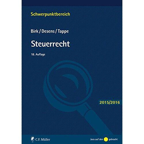 Dieter Birk - Steuerrecht (Schwerpunktbereich) - Preis vom 06.09.2020 04:54:28 h