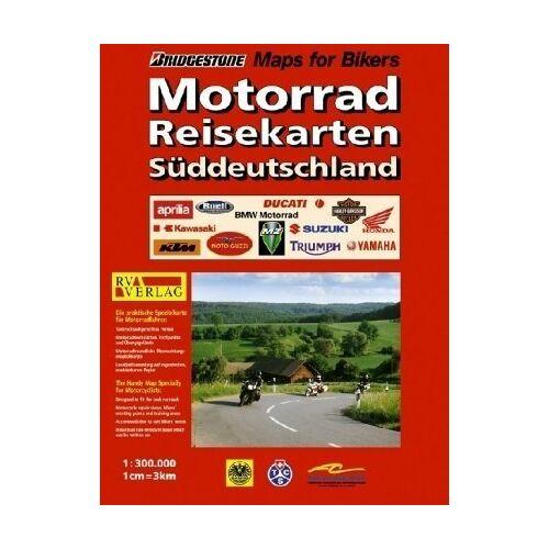 - RV Motorad-Reisekarten 1:300 000 Süddeutschland - Preis vom 21.04.2021 04:48:01 h