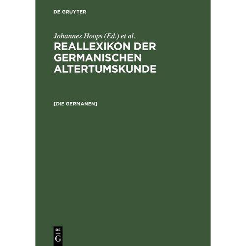 Heinrich Beck - Reallexikon der Germanischen Altertumskunde. Pflichtfortsetzung: Reallexikon der Germanischen Altertumskunde: Germanen, Germania, Germanische Altertumskunde - Preis vom 23.01.2020 06:02:57 h