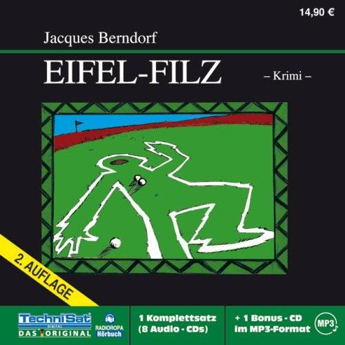 Jacques Berndorf - Eifel-Filz - Preis vom 22.04.2021 04:50:21 h
