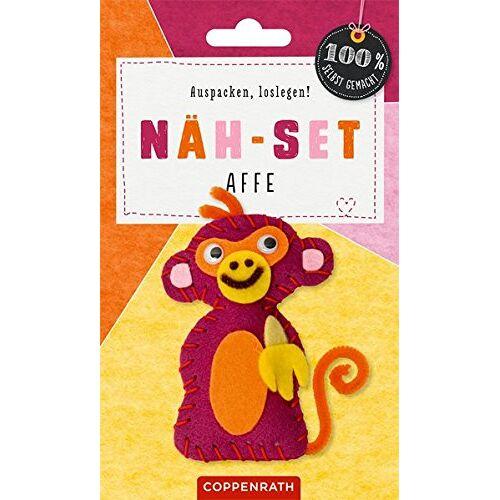 - Näh-Set: Filzanhänger Affe (100% selbst gemacht) - Preis vom 19.01.2021 06:03:31 h