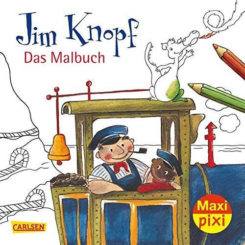 Michael Ende - VE 5 Jim Knopf Malbuch (5 Exemplare) (Maxi Pixi, Band 269) - Preis vom 17.01.2020 05:59:15 h