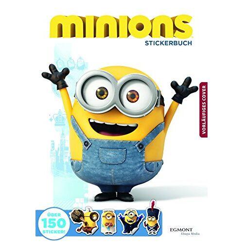 - Minions - Stickerbuch - Preis vom 05.09.2020 04:49:05 h