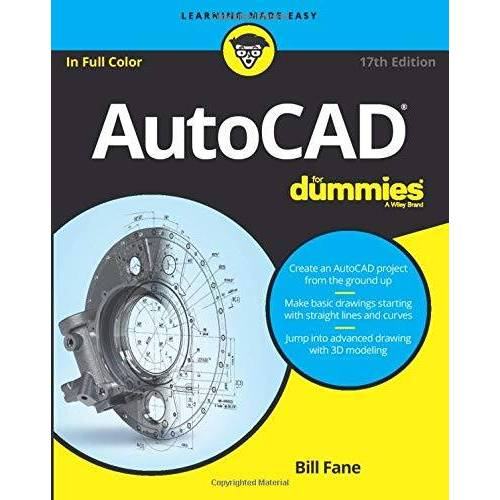 Bill Fane - AutoCAD For Dummies 17e - Preis vom 10.04.2021 04:53:14 h