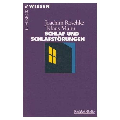 Joachim Röschke - Schlaf und Schlafstörungen - Preis vom 05.09.2020 04:49:05 h