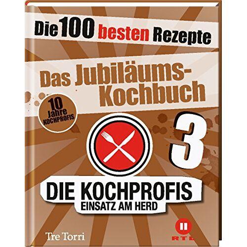 Ralf Frenzel - Die Kochprofis 3 - Das Jubiläums-Kochbuch: Die 100 besten Rezepte - Preis vom 06.09.2020 04:54:28 h