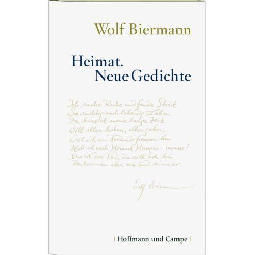 Wolf Biermann - Heimat: Neue Gedichte - Preis vom 06.05.2021 04:54:26 h