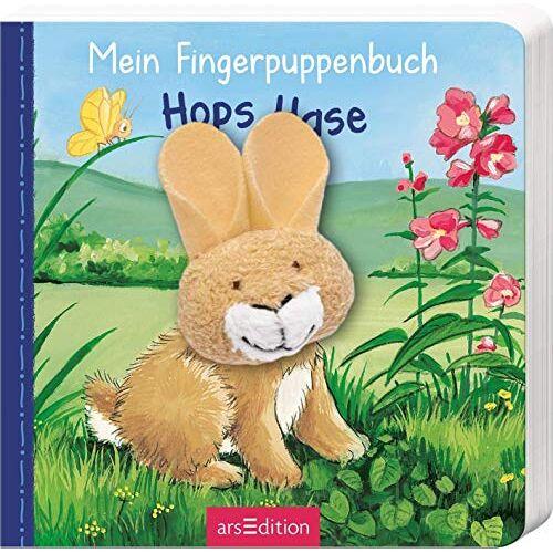 Andrea Gerlich - Mein Fingerpuppenbuch - Hops Hase (Fingerpuppenbücher) - Preis vom 25.02.2021 06:08:03 h