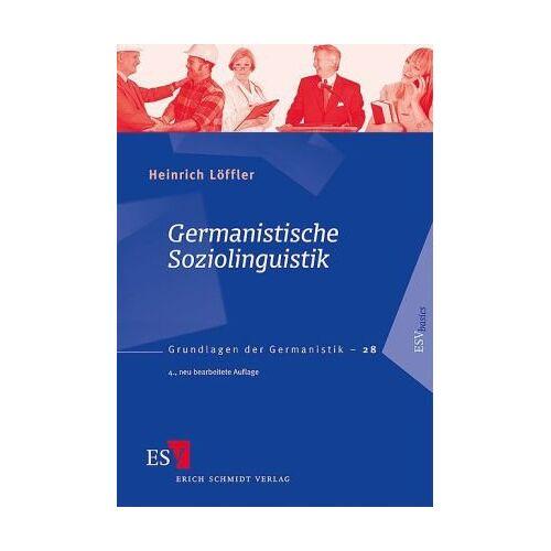 Löffler, Prof. Dr. Heinrich - Germanistische Soziolinguistik - Preis vom 07.05.2021 04:52:30 h