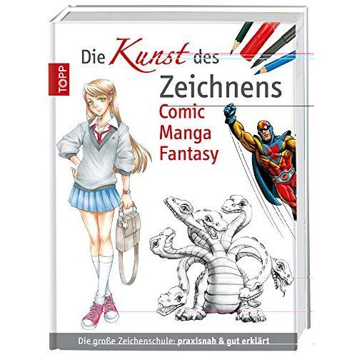 - Die Kunst des Zeichnens Comic Manga Fantasy: Die große Zeichenschule: praxisnah & gut erklärt - Preis vom 05.04.2020 05:00:47 h