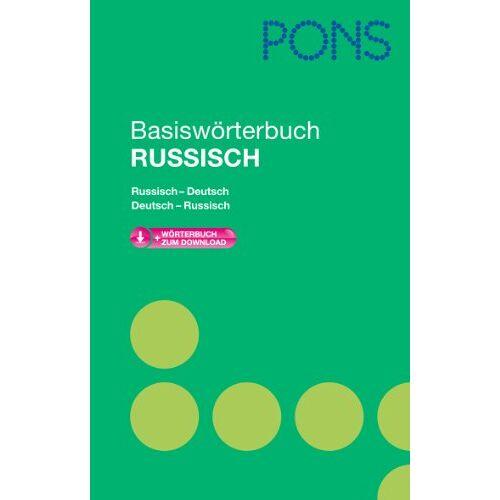 - PONS Basiswörterbuch Russisch: Russisch-Deutsch/Deutsch-Russisch. Mit Download-Wörterbuch - Preis vom 12.05.2021 04:50:50 h