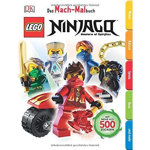 - Das Mach-Malbuch. LEGO® Ninjago - Preis vom 25.01.2020 05:58:48 h