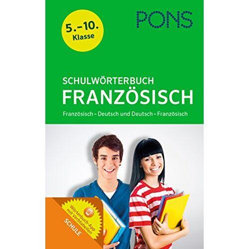 - PONS Schulwörterbuch Französisch: Für die Klassen 5-10. Französisch – Deutsch und Deutsch – Französisch - Preis vom 28.03.2020 05:56:53 h