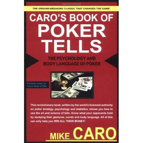 Mike Caro - Caro's Book of Poker Tells - Preis vom 19.04.2021 04:48:35 h