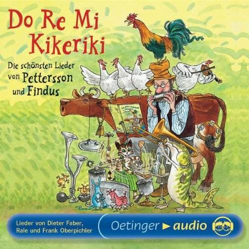 Sven Nordqvist - Do Re Mi Kikeriki (CD): Lieder - Preis vom 28.02.2021 06:03:40 h