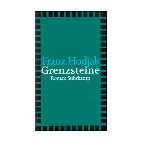 Franz Hodjak - Grenzsteine: Roman - Preis vom 21.10.2020 04:49:09 h