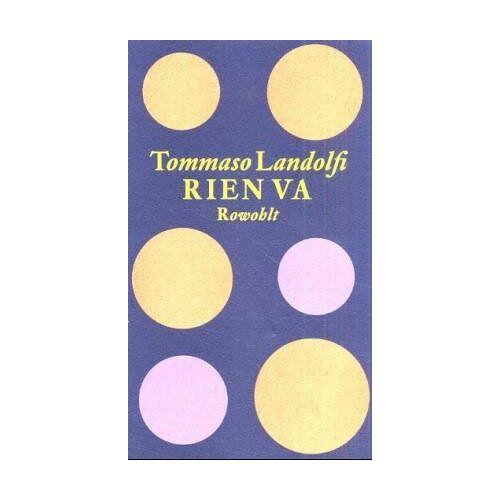 Tommaso Landolfi - Rien va - Preis vom 19.01.2021 06:03:31 h