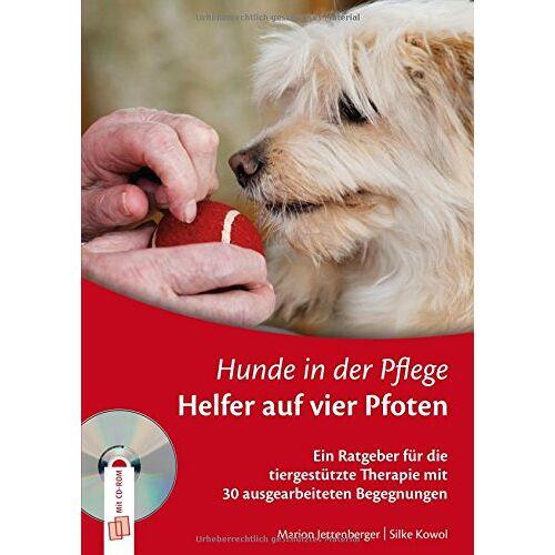 Marion Jettenberger - Hunde in der Pflege: Helfer auf vier Pfoten: Ein Ratgeber für die tiergestützte Therapie mit 30 ausgearbeiteten Begegnungen - Preis vom 11.05.2021 04:49:30 h