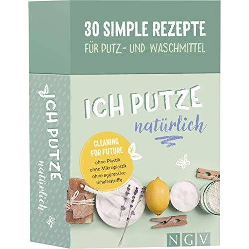 - Ich putze natürlich - 30 simple Rezepte für Putz- und Waschmittel: Cleaning for Future: Ohne Plastik, ohne Mikroplastik, ohne agressive Inhaltsstoffe - Preis vom 22.01.2021 05:57:24 h
