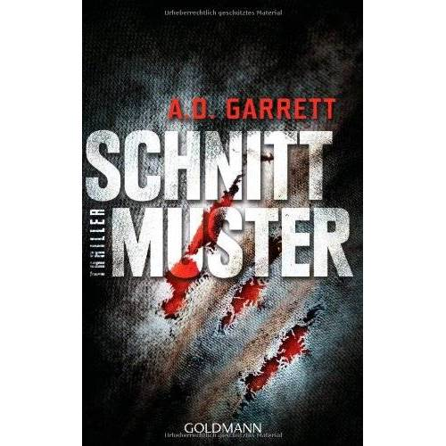 AD Garrett - Schnittmuster: Thriller - Preis vom 15.04.2021 04:51:42 h