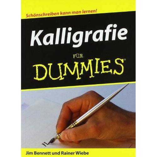 Jim Bennett - Kalligrafie für Dummies - Preis vom 19.01.2020 06:04:52 h
