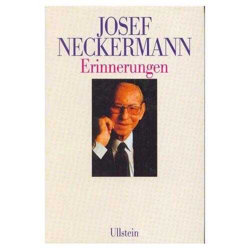 Josef Neckermann - Erinnerungen - Preis vom 27.02.2021 06:04:24 h