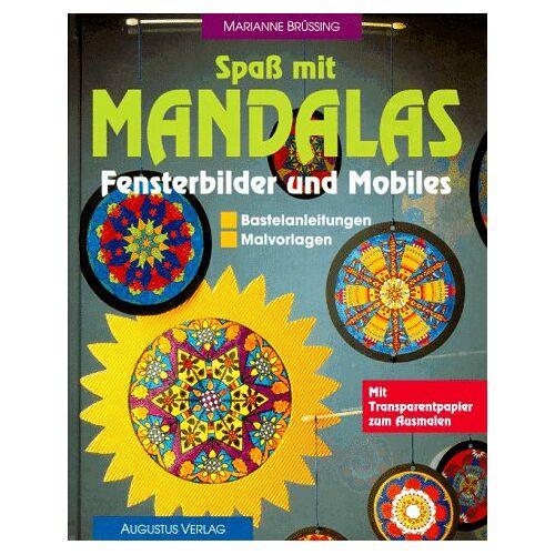 Marianne Brüssing - Spaß mit Mandalas. Fensterbilder und Mobiles. Bastelanleitungen. Malvorlagen - Preis vom 28.02.2021 06:03:40 h