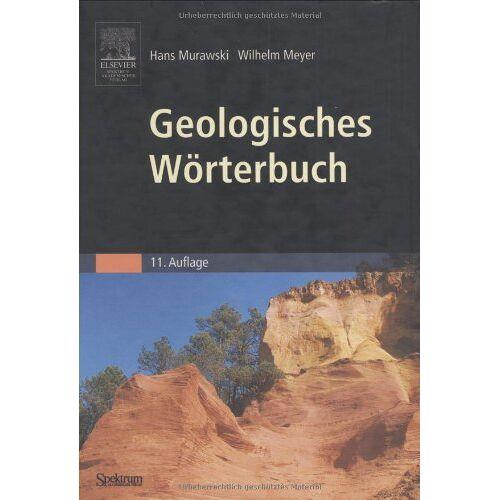 Hans Murawski - Geologisches Wörterbuch - Preis vom 04.09.2020 04:54:27 h