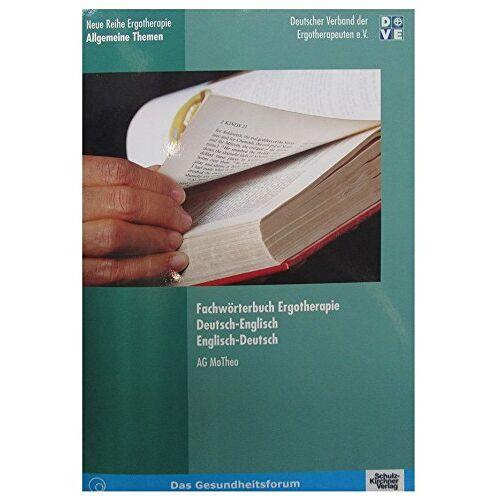 Barbara Dehnhardt - Fachwörterbuch Ergotherapie: Dt.-Engl. /Engl.-Dt. - Preis vom 11.05.2021 04:49:30 h