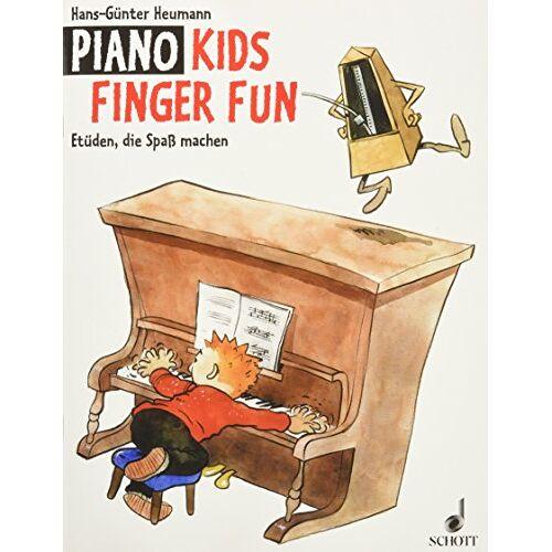 Hans-Günter Heumann - Piano Kids Finger Fun: Etüden, die Spaß machen. Klavier. - Preis vom 18.04.2021 04:52:10 h