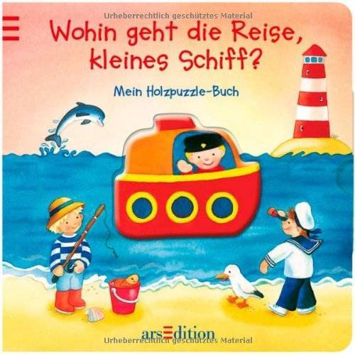 - Wohin geht die Reise, kleines Schiff?: Mein Holzpuzzle-Buch: Mein Holzpuzzle-Buch. Ab 18 Monate - Preis vom 10.05.2021 04:48:42 h