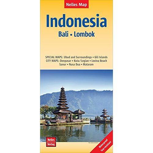 Nelles Verlag - Nelles Map Landkarte Indonesia : Bali, Lombok: reiß- und wasserfest; waterproof and tear-resistant; indéchirable et imperméable; irrompible & impermeable   1 : 180,000 - Preis vom 18.04.2021 04:52:10 h
