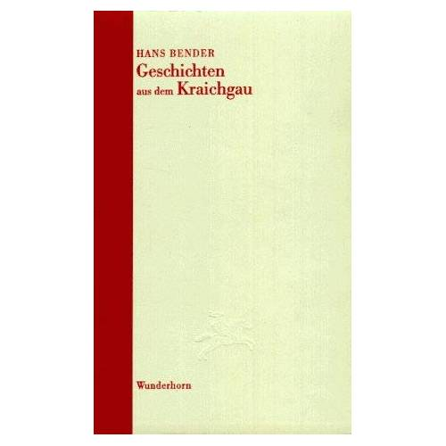 Hans Bender - Geschichten aus dem Kraichgau - Preis vom 20.10.2020 04:55:35 h