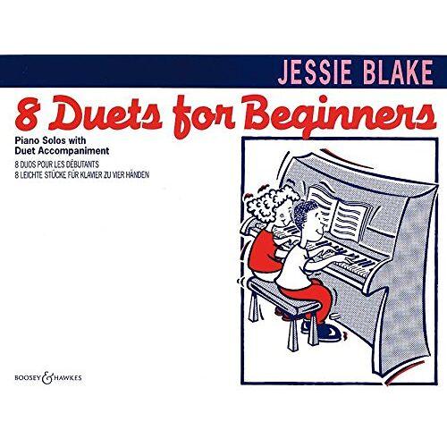- Acht Duette für Anfänger: 8 leichte Stücke für Klavier zu vier Händen. Klavier 4-händig. (Blake & Capp Piano Music) - Preis vom 21.10.2020 04:49:09 h