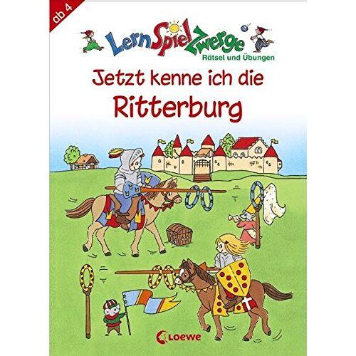 Christiane Luff - Jetzt kenne ich die Ritterburg (LernSpielZwerge - Übungshefte) - Preis vom 11.05.2021 04:49:30 h