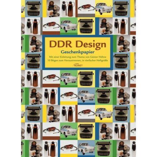 - DDR Design Geschenkpapier - Preis vom 20.10.2020 04:55:35 h