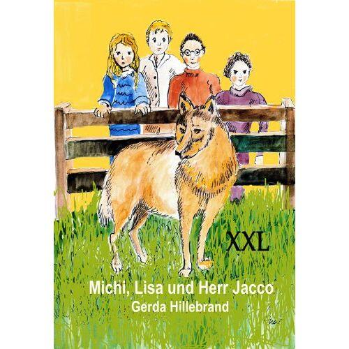Gerda Hillebrand - Michi, Lisa und Herr Jacco - Sonderformat Großschrift - Preis vom 20.10.2020 04:55:35 h