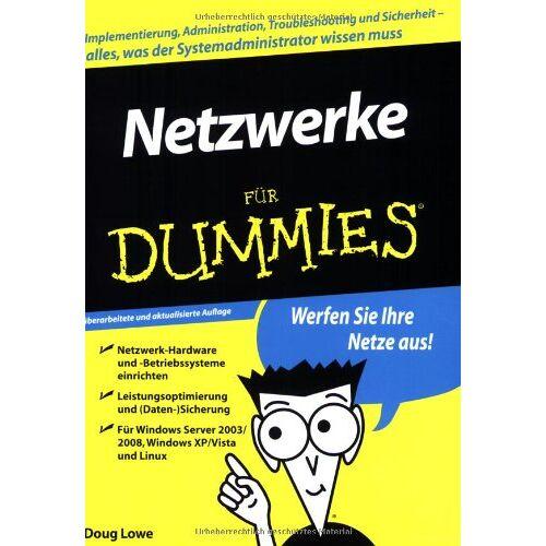 Doug Lowe - Netzwerke für Dummies - Preis vom 07.08.2020 04:56:28 h