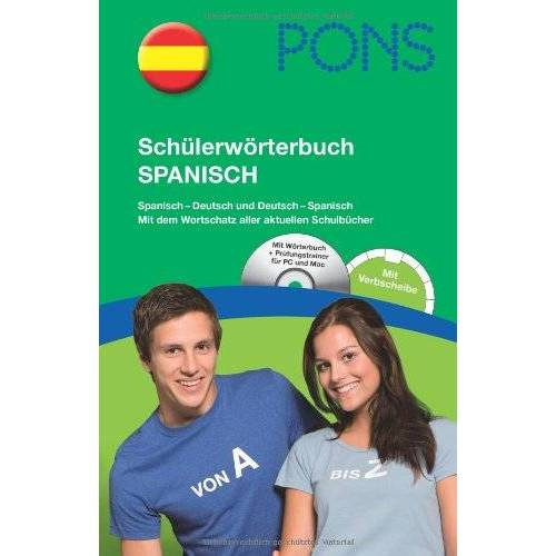 - PONS Schülerwörterbuch Spanisch: Spanisch-Deutsch / Deutsch-Spanisch mit CD-Rom und dem Wortschatz aller aktuellen Schulbücher - Preis vom 21.10.2020 04:49:09 h