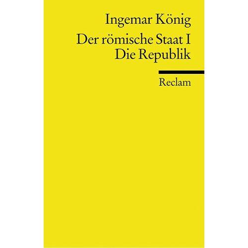 Ingemar König - Der römische Staat - Preis vom 28.02.2021 06:03:40 h