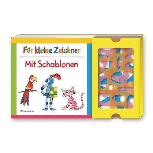 Norbert Pautner - Für kleine Zeichner mit Schablonen-Set: Buch mit drei Schablonen - Preis vom 14.04.2021 04:53:30 h