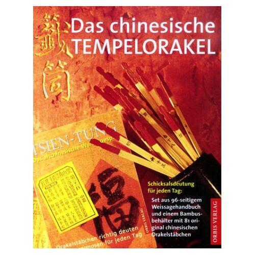 Tsien Tung - Das chinesische Tempelorakel, m. 81 Orakelstäbchen - Preis vom 10.05.2021 04:48:42 h