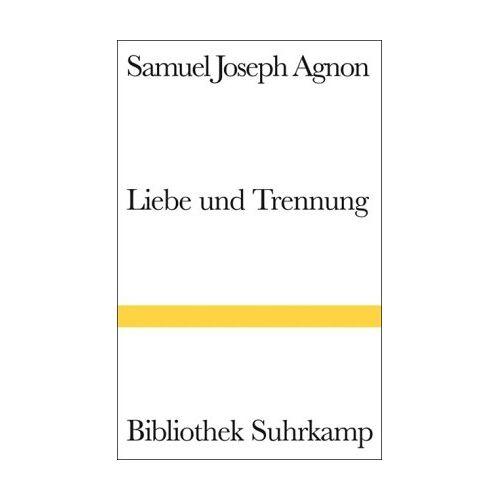 AGNON S.J. - Liebe und Trennung - Preis vom 16.04.2021 04:54:32 h