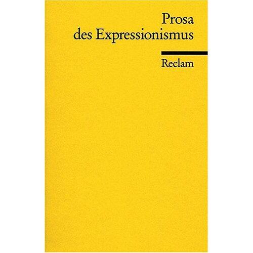 Fritz Martini - Prosa des Expressionismus - Preis vom 11.05.2021 04:49:30 h