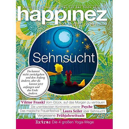 Happinez - Happinez 3/2019 Sehnsucht - Preis vom 04.09.2020 04:54:27 h