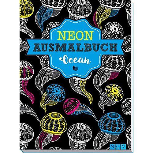 - Ocean Neon-Ausmalbuch - Preis vom 24.11.2020 06:02:10 h