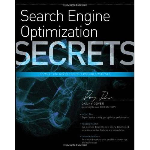 Danny Dover - Search Engine Optimization (SEO) Secrets (... Secrets (IDG)) - Preis vom 18.04.2021 04:52:10 h