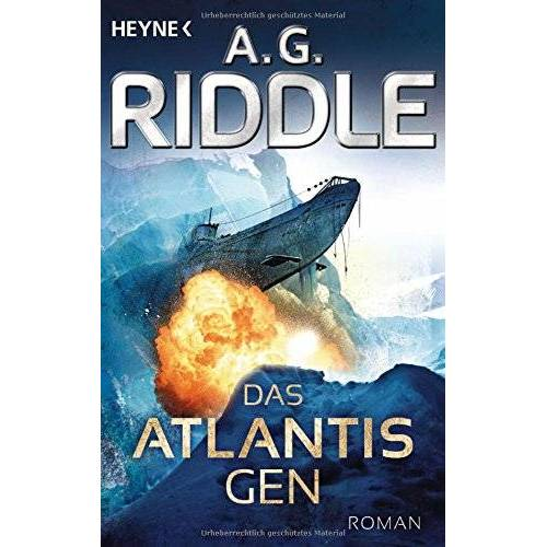 Riddle, A. G. - Das Atlantis-Gen: Roman (Die Atlantis-Trilogie, Band 1) - Preis vom 12.05.2021 04:50:50 h
