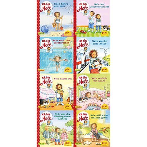 Various - Pixi-8er-Set 248: Ich bin Nele (8x1 Exemplar) - Preis vom 17.01.2020 05:59:15 h